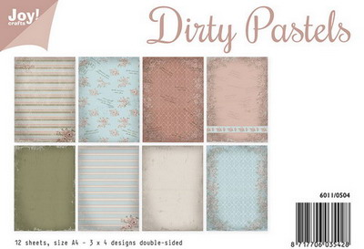 Joy Crafts - Joy! papierset dirty pastels 6011/0504