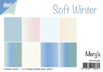 Joy Crafts - Joy! papierset Mery's Soft Winter 6011/0545