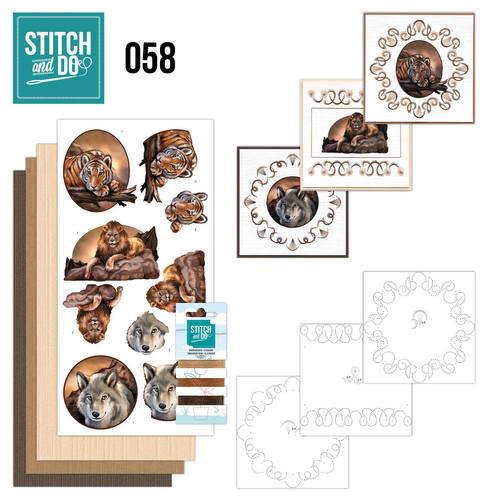 Stitch & do -  58 - Wild Animals