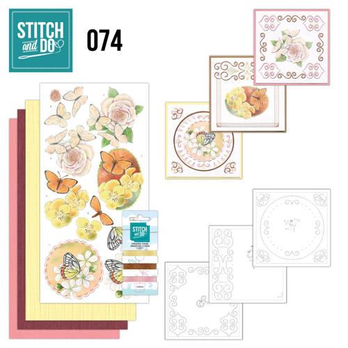 Stitch & do - 74 Vlinders en Bloemen