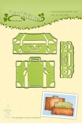 LCR45.1901 Lea bilitie® Suitcases snij en embossing mal