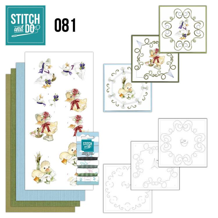 Stitch & do -  81 - Voorjaarsdieren