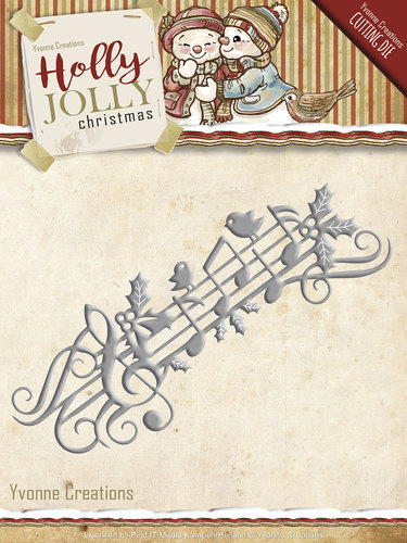 Die - Yvonne Creations - Holly Jolly - Music Border