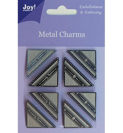 Joy! crafts - Metal Charms - Hoekjes - 6350/0105