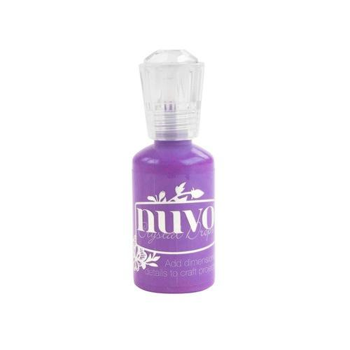 Nuvo Crystal drop - plum pudding 687N