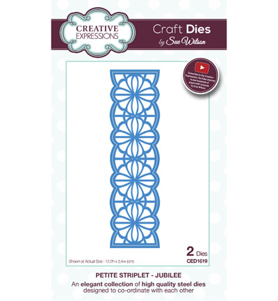 Creative Expressions - Petite Striplet - Jubilee - CED1619