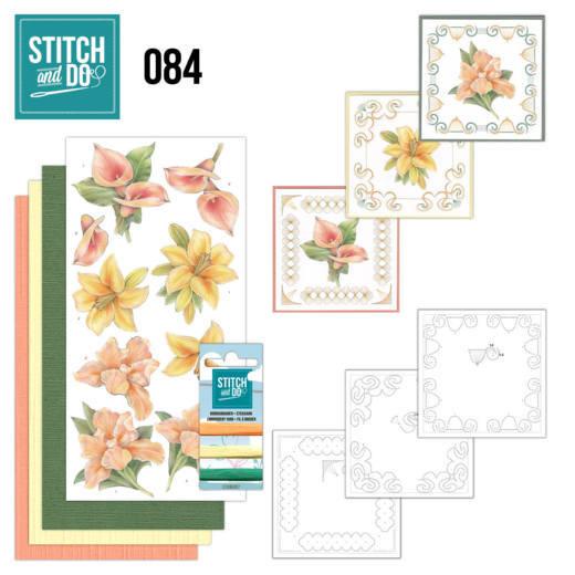 Stitch and Do 84 - Yellow Flowers STDO084