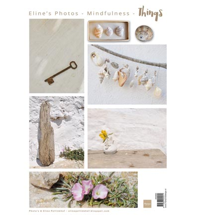 Marianne design, A4 knipvel  - AK0063 - Eline's mindfulness - Things