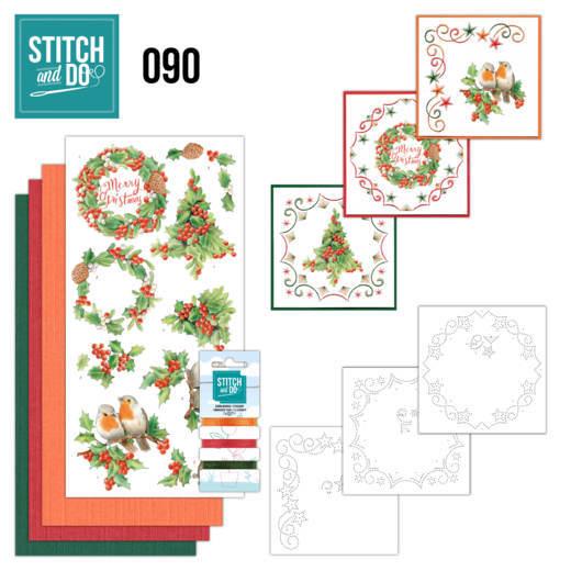 Stitch and Do 90 - Merry Christmas STDO090