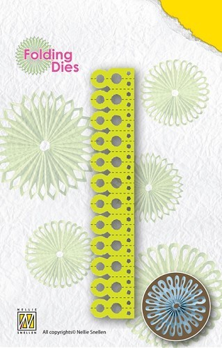 Nellies Folding Dies - round point NFD008