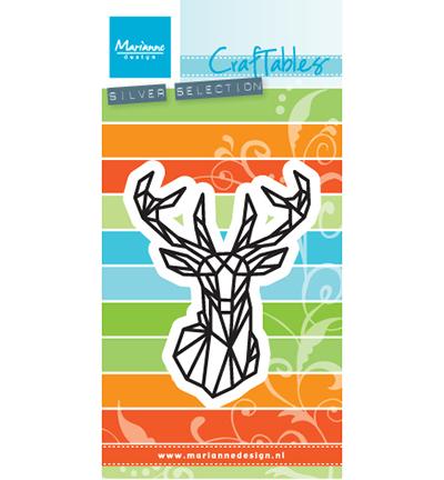 Marianne design, CR1448 - Craftables stencil - punch die star