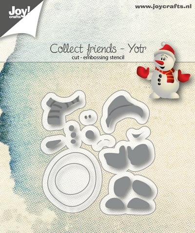 Joy! stencil Collect friends Yotr6002/1111