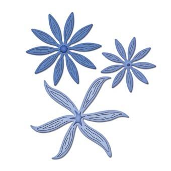 Spellbinders S2-047,blooms four