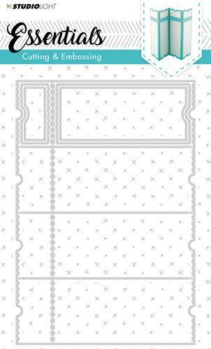 Studio Light - Embossing Die Cut Stencil - Essentials nr.169 - STENCILSL169