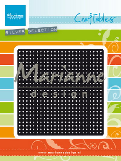 Marianne desgn - Craftables stencil Cross Stitch large CR1466