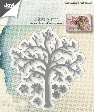 Joy! stencil voorjaarsboom6002/1281
