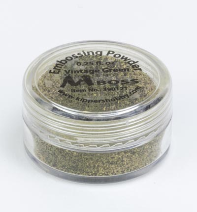 Mboss Embossing powder - Vintage Green