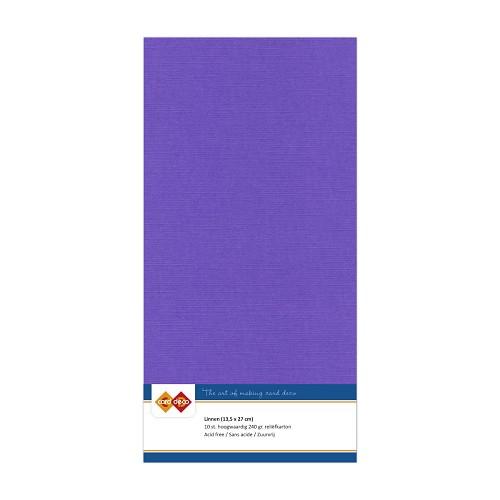 LKK-4K18 Linnenkarton - Vierkant - Violet