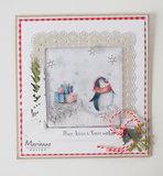 Marianne desgn - Craftables stencil Shaker Square CR1475_