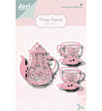 Joy! stencil- Noor - Vintage Teaparty -  6002/1470_