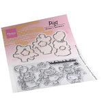 Marianne design, Eline's Animals - Pigs EC0187_