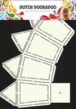 Dutch Doobadoo - Dutch Box Art - Stencil Lantaarn A4_