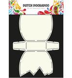 Dutch Doobadoo - Dutch Card Art - Stencil - paasei_