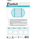 Studio Light - Embossing Die Cut Stencil - Essentials Nr.115 STENCILSL_
