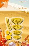 Joy! stencil madeliefje - sunflower 6002/0913_