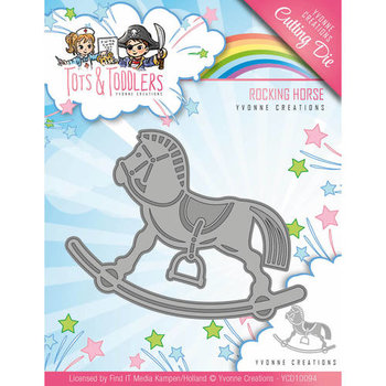 Tots and Toddlers - Die - Roking Horse