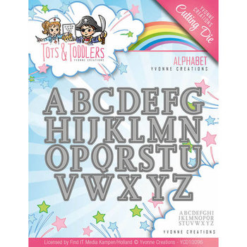 Tots and Toddlers - Die - Alphabet