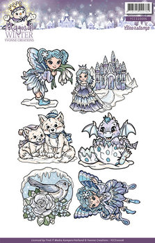 Clearstamp - Yvonne Creations - Magical winter  YCCS10006