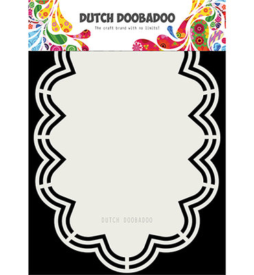 Dutch Doobadoo - Dutch Shape Art -Cloud Amy 470.173.180