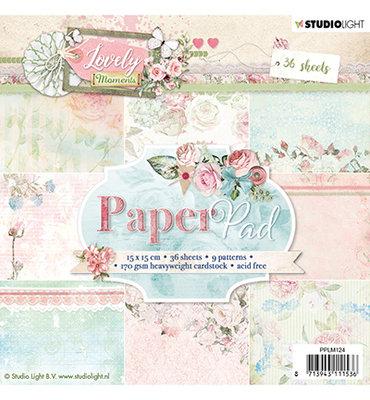 Studio Light - Paper pad - 36 vel Lovely Moments nr.124- PPLM124