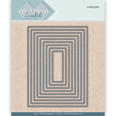 CDECD0023 Card Deco Essentials Cutting Dies Rectangle