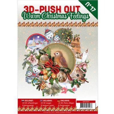 3DPO10017 3D Pushout Book 17 Warm Christmas Feelings