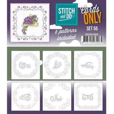 COSTDO10055 Cards only Stitch 55