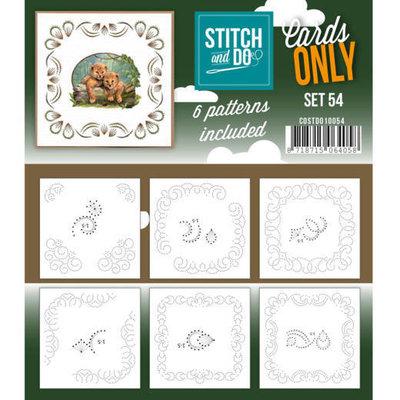 COSTDO10054 Cards only Stitch 54