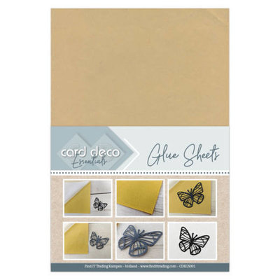 CDEGS001 Card Deco Essentials - Glue Sheets