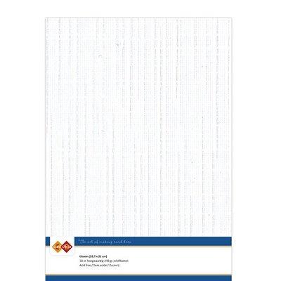 LKK-A401 Linnenkarton - A4 - Wit