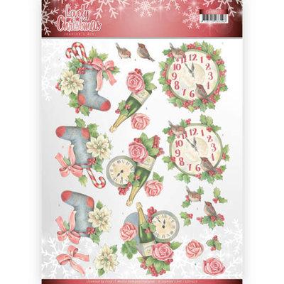 CD11377 3D Knipvel - Jeanine's Art - Lovely Christmas - Lovely Christmas Time
