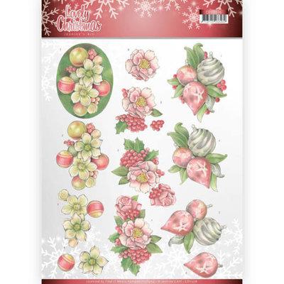 CD11376-HJ17401 3D Knipvel - Jeanine's Art - Lovely Christmas - Lovely Ornaments
