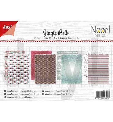 Joy! papierset -Noor Design - Jingle bells 6011/0610
