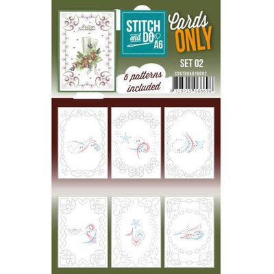 COSTDOA610002 Cards Only Stitch A6 - 002