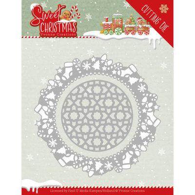 YCD10178 Dies - Yvonne Creations - Sweet Christmas - Sweet Christmas Frame