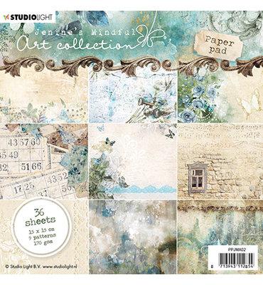 PPJM02 - Paper Pad, Jenine's Mindful Art nr.02