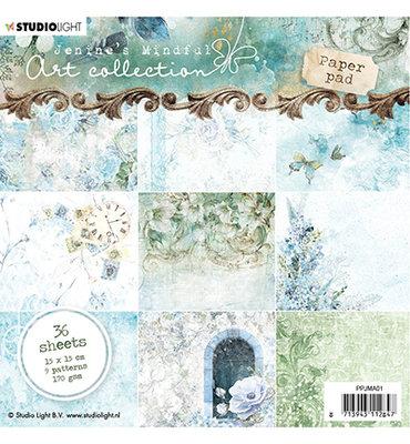 PPJM01 - Paper Pad, Jenine's Mindful Art nr.01