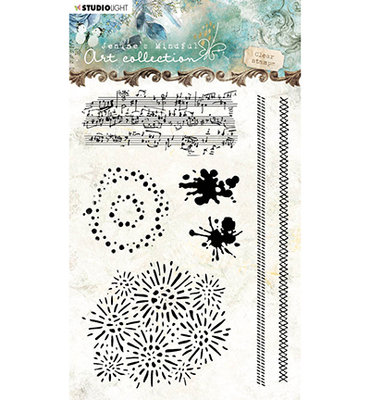 Studio Light - Clear Stempel, Stamp, Jenine's Mindful Art nr.03