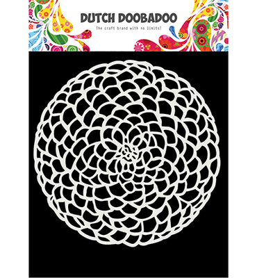 DDBD Dutch Mask - Flower circle- A5 470.715.617