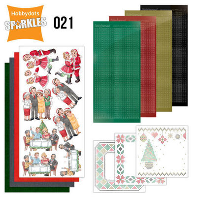 SPDO021 Sparkles Set 21 - Family Christmas